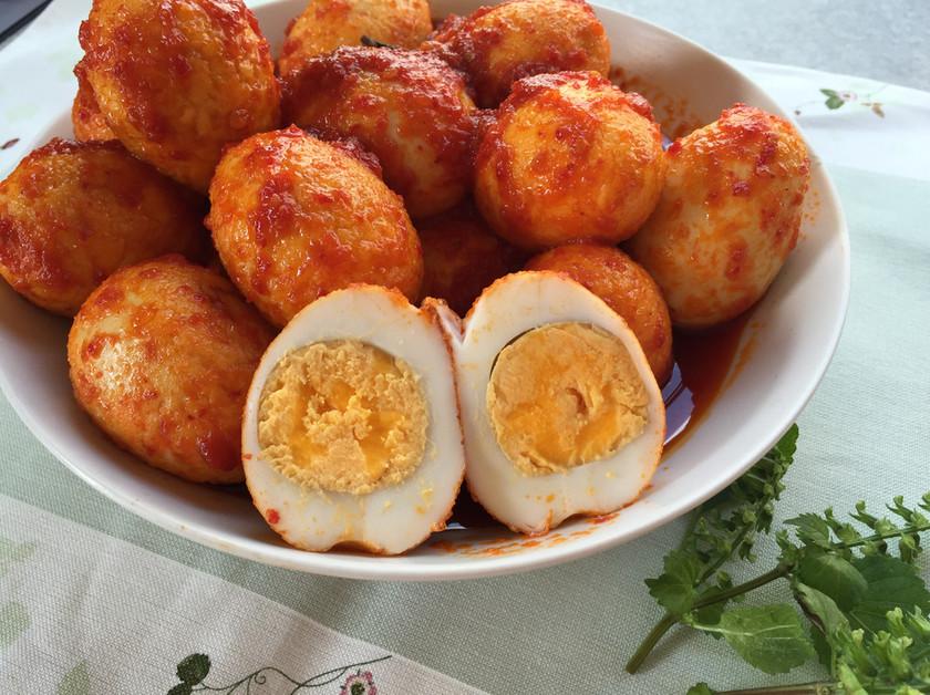 インドネシア♡ごろごろ卵の旨おかず