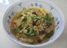 ゴーヤチャンプル風☆キムチスープ