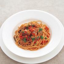ボンゴレロッソのスパゲッティ
