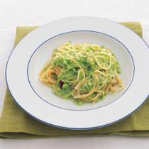 青豆のスパゲッティーニ