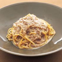 マッシュルームのスパゲッティーニ
