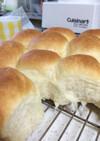 クイジナートとストウブで簡単はちみつパン