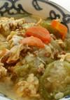 ヘチマの味噌煮~卵とじ~