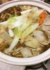 キノコ鍋風芋煮