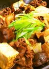 フライパンで味染み染み♡すき焼き肉豆腐