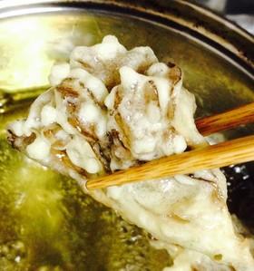 舞茸のサクサク米粉天ぷら