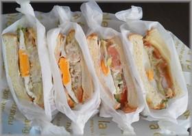 ☆ツナキャベツの沼サン風サンドイッチ☆