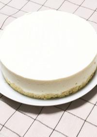 糖質制限レアチーズケーキ