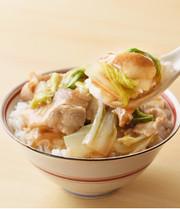 豚バラ白菜丼の写真