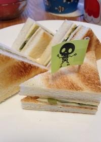 鈴木慶一さんの「カツ」サンド