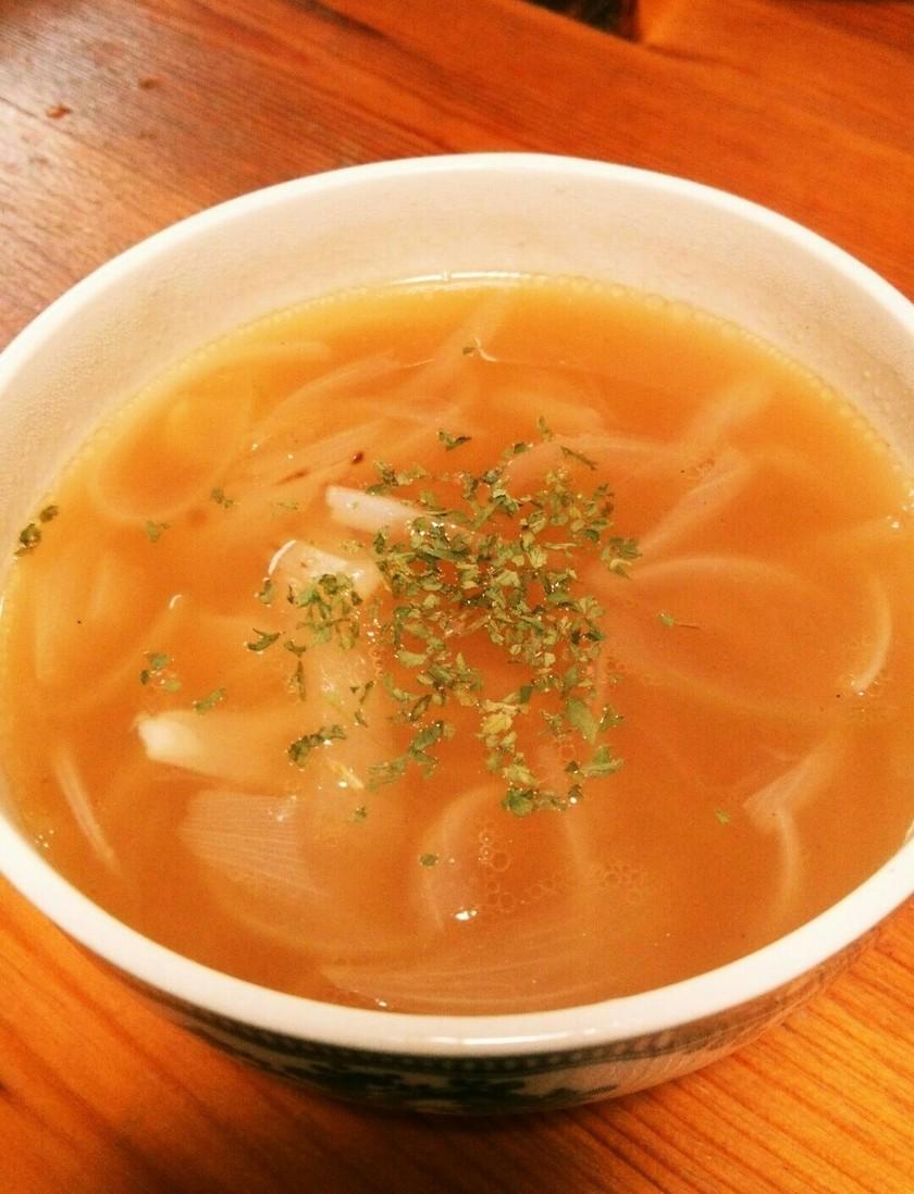 ダシダでオニオンスープ