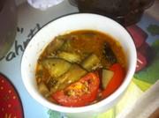 なすとひき肉の洋風煮物(ムサカの中身)の写真