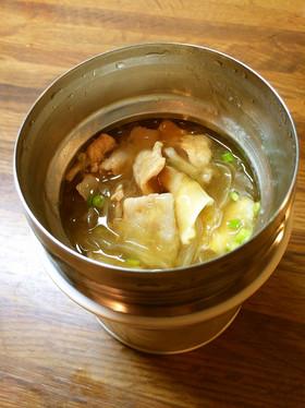 フードコンテナ用レシピ♪あんかけ豚丼