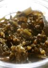 ご飯がすすむ♪シソの実と昆布の佃煮