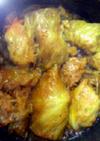 トマト煮込み風味 簡単ロールキャベツ