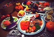 【ハロウィン】パーティープレートの写真