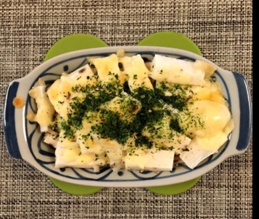 ♡妊活レシピ♡長芋の青海苔チーズ焼き