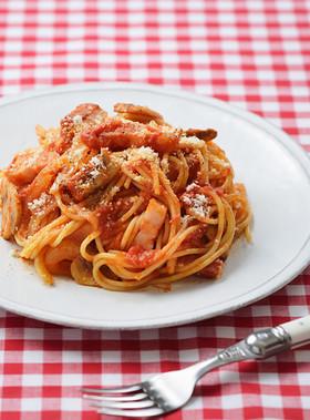 きほんのトマトパスタ