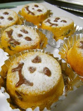 かぼちゃマフィン~ハロウィン版♡