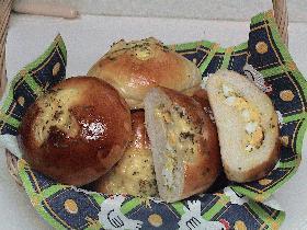 マヨネーズのかおり漂うタマゴパン