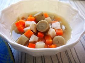 温活&美肌!ヘルシー秋おかず・根菜スープ