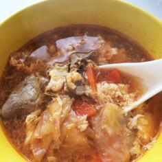 お手軽簡単キムチスープ