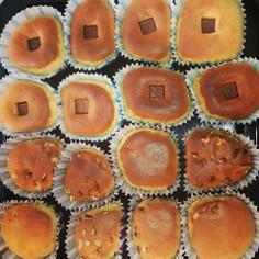 HMとフープロ使用で簡単カップケーキ♡
