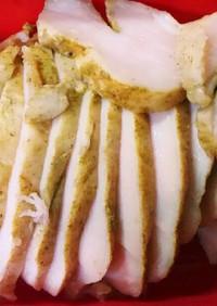 【糖質制限】炊飯器の保温で鶏ハム♪
