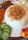 インドネシア♡香りココナッツライス