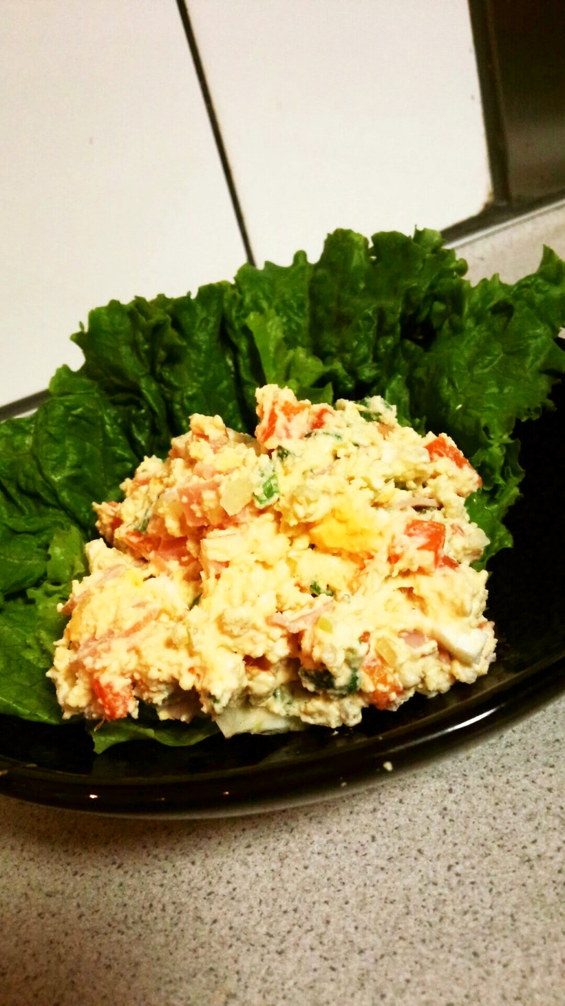 粉豆腐のサラダ