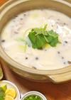 豆腐とキノコの豆乳鍋 ♪ 簡単&ヘルシー