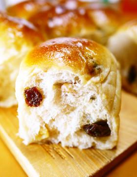 卵と牛乳♪レーズンくるみ★ちぎりパン