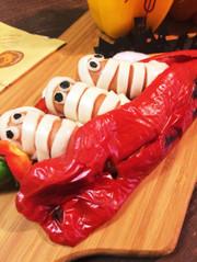ハロウィン☆ミイラが棺桶からやってきた!の写真