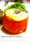 トマトのチーズカップ焼き(付合わせに○)