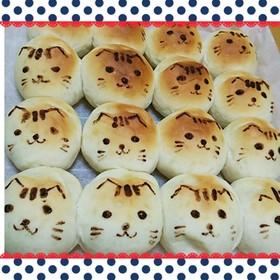 ちぎりパン猫ふんわりカルピス風味 By ゆっきーず クックパッド