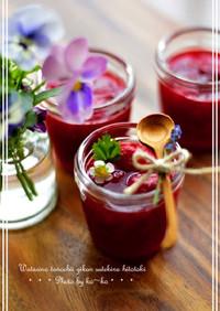 苺のソース&ジャム