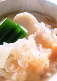 薬膳白きくらげと里芋のうるるんスープ