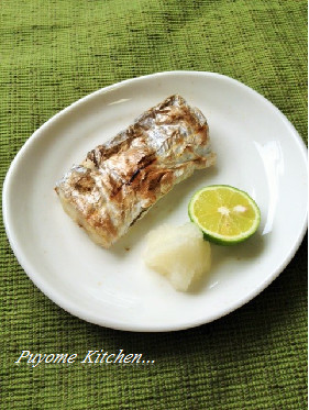 【釣食】太刀魚の塩焼き