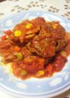ラム肉のトマト煮