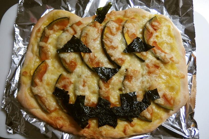簡単豪華♪かぼちゃのコーンクリームピザ