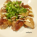鶏肉とエリンギのマヨポン炒め