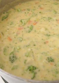 クリーミーブロッコリーチーズスープ
