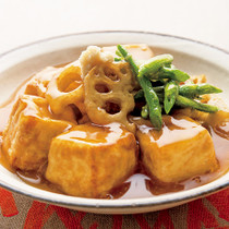 しょうがあん揚げ出し豆腐