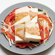 ごまだれ豆腐サラダ