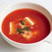 豆腐トマトスープ
