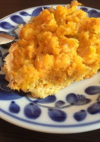 炊飯器deかぼちゃ蒸しパン