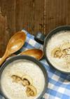 マッシュルームとひよこ豆のスープ