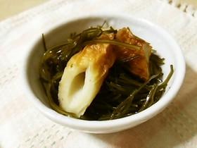 常備菜に便利♪切り昆布と竹輪の煮物