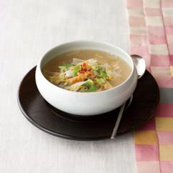 プゴク(豆もやしと干しだらのスープ)
