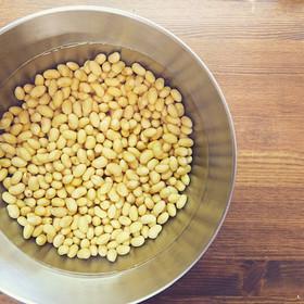 大豆から沖縄島豆腐の作り方